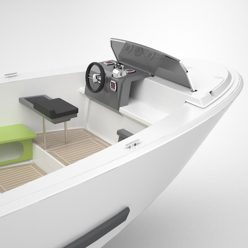 Elektroboot Become Bertoldi Boats