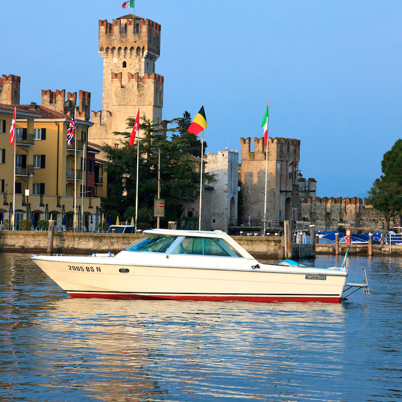 Bertoldi Botas: Boot Columbus, Gardasee-Tour