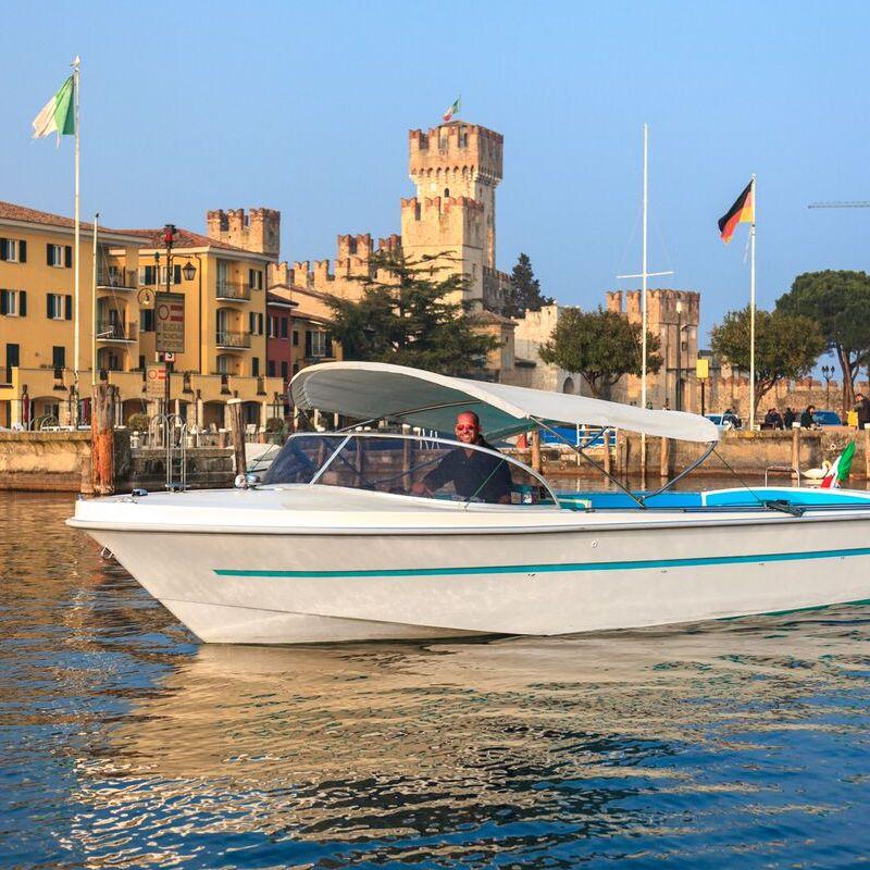Motorboot Ghibli Gardasee-Tour