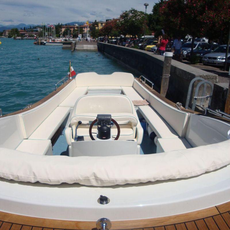 Bertoldi Boats: Libera Boot, Gardasee-Tour
