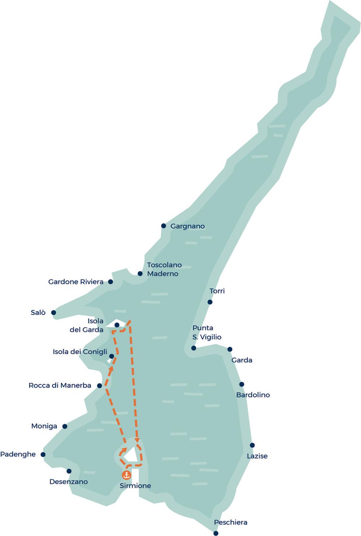 Остров Гарда: Лодочные Экскурсии По Озеру Гарда