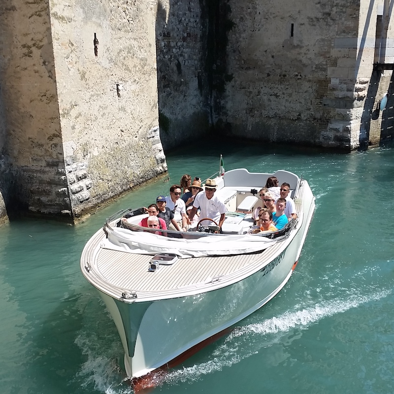 Barca Bertoldi Boats navigazione Sirmione