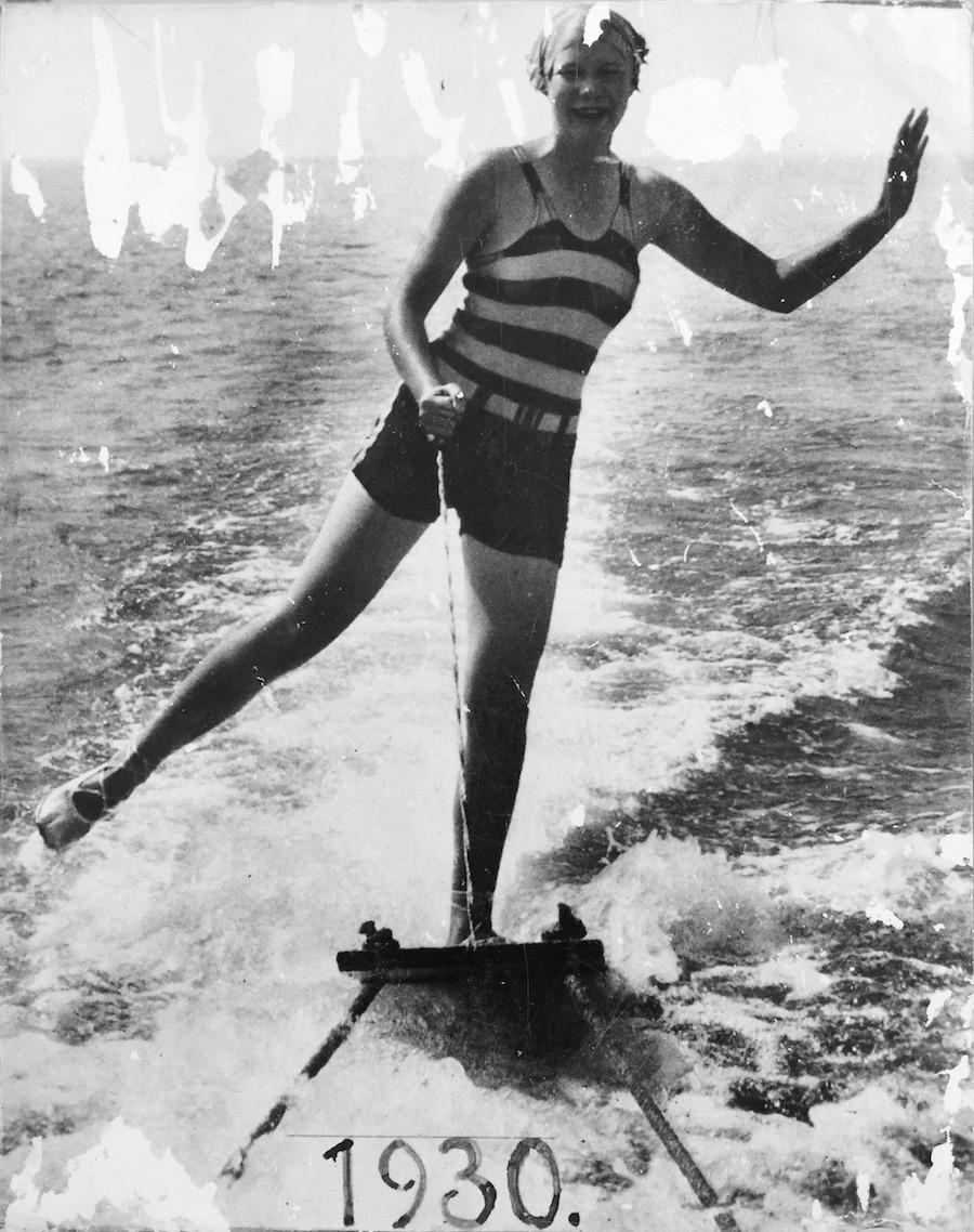 Sci acqua nel 1930