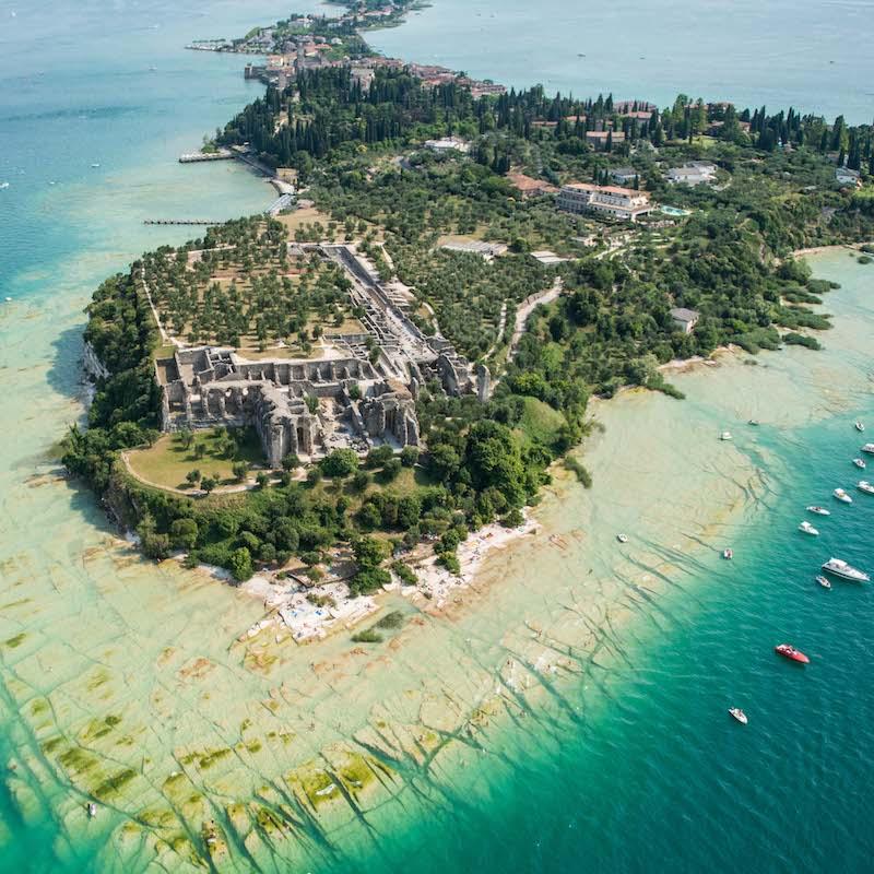 Tour Di Sirmione In Motoscafo, Lago Di Garda