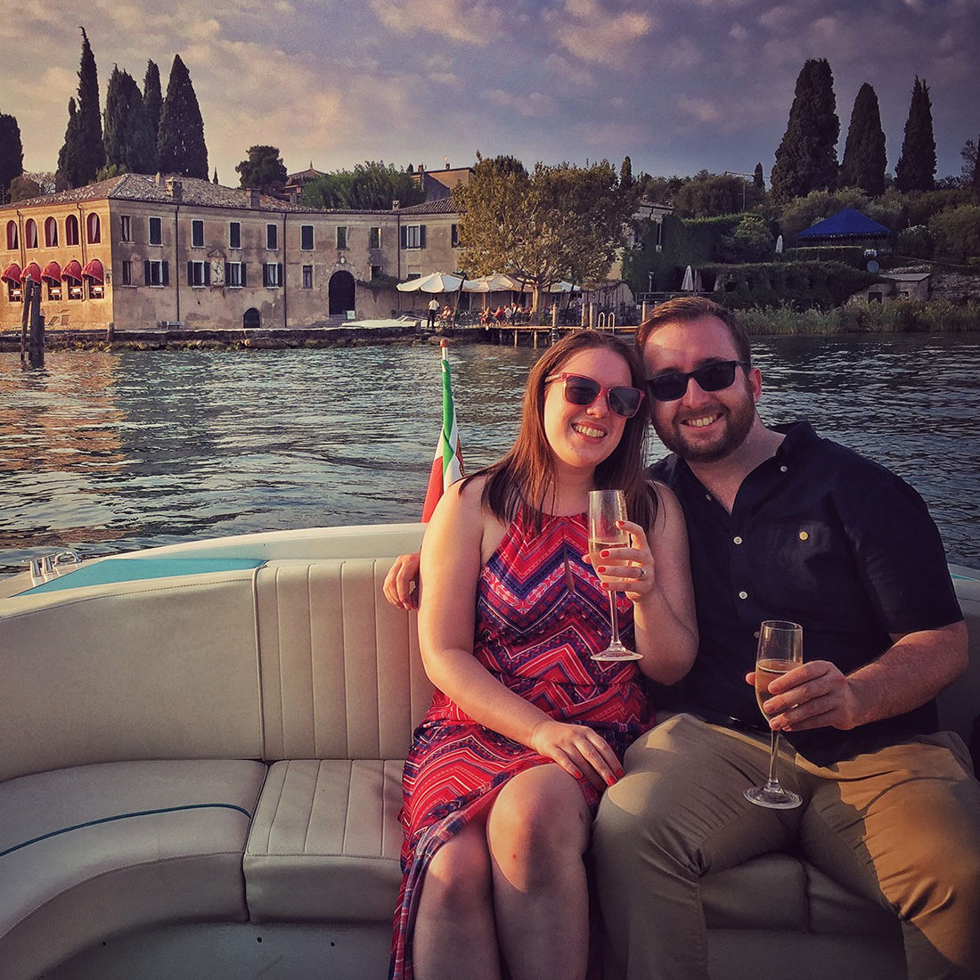 Bertoldi Boats: Aperitifs on a boat on Lake Garda