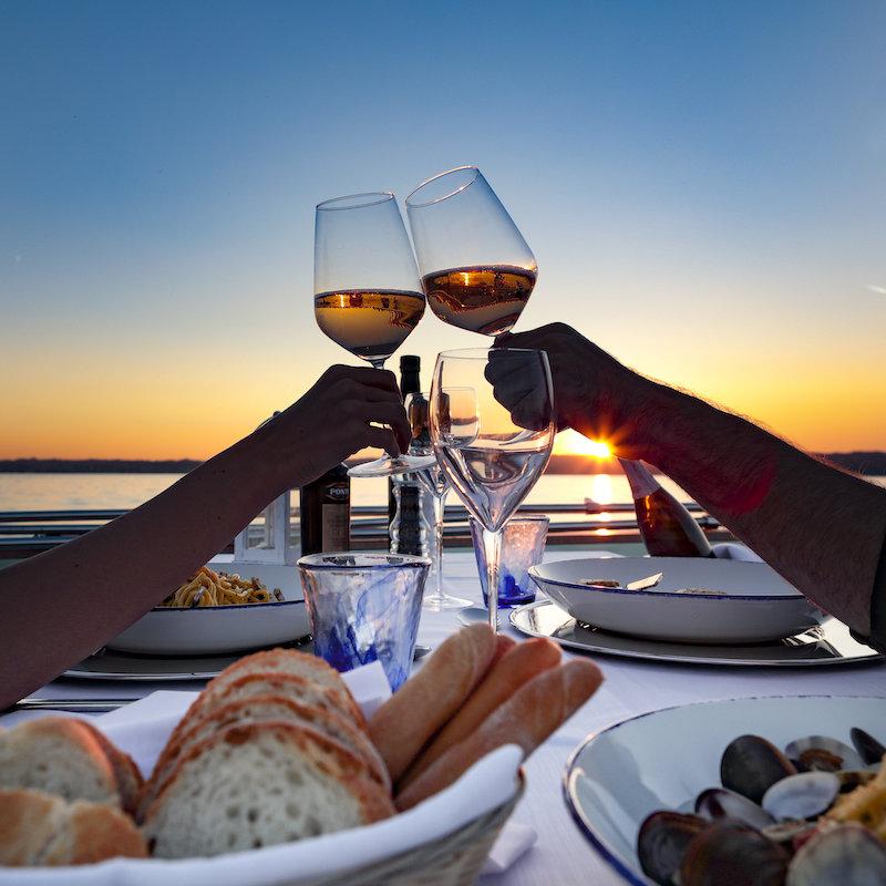 Cena Romantica Sul Lago Di Garda - Bertoldi Boats