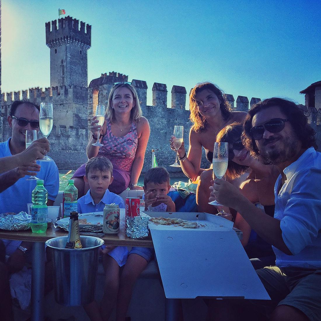 Cena Battello Lago di Garda