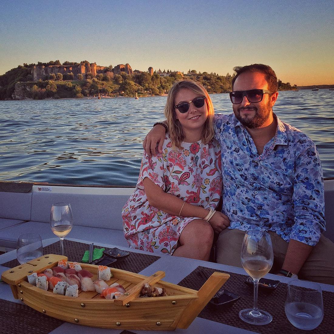 Bertoldi Boats: Cena in Barca sul Lago di Garda