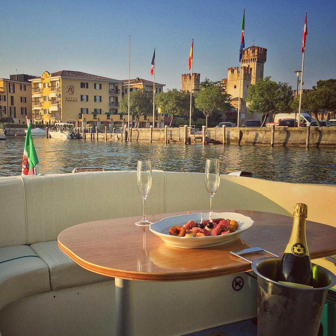 Cena Motoscafo Lago Di Garda - Bertoldi Boats