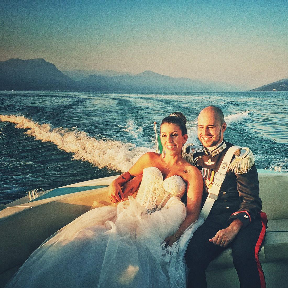 Matrimonio In Barca Sul Lago di Garda