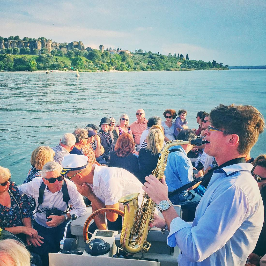 Bertoldi Boats: Privates Fest im Boot Gardasee
