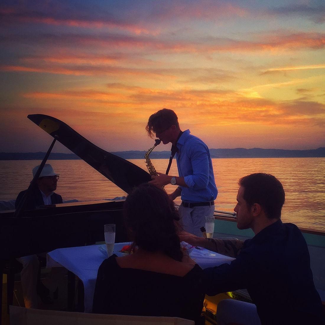 Festa in Barca Lago di Garda: Musica Live