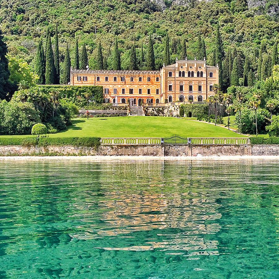 Villa Canossa nel Golfo di Garda