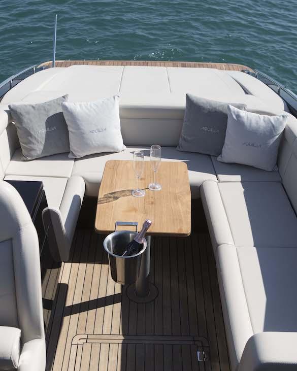 Motoscafo Virgilio Interno - Bertoldi Boats