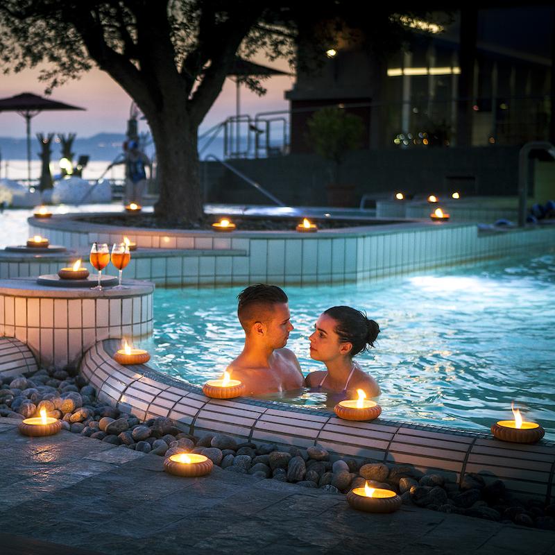 Fuga Romantica Sul Lago Di Garda: Terme Aquaria