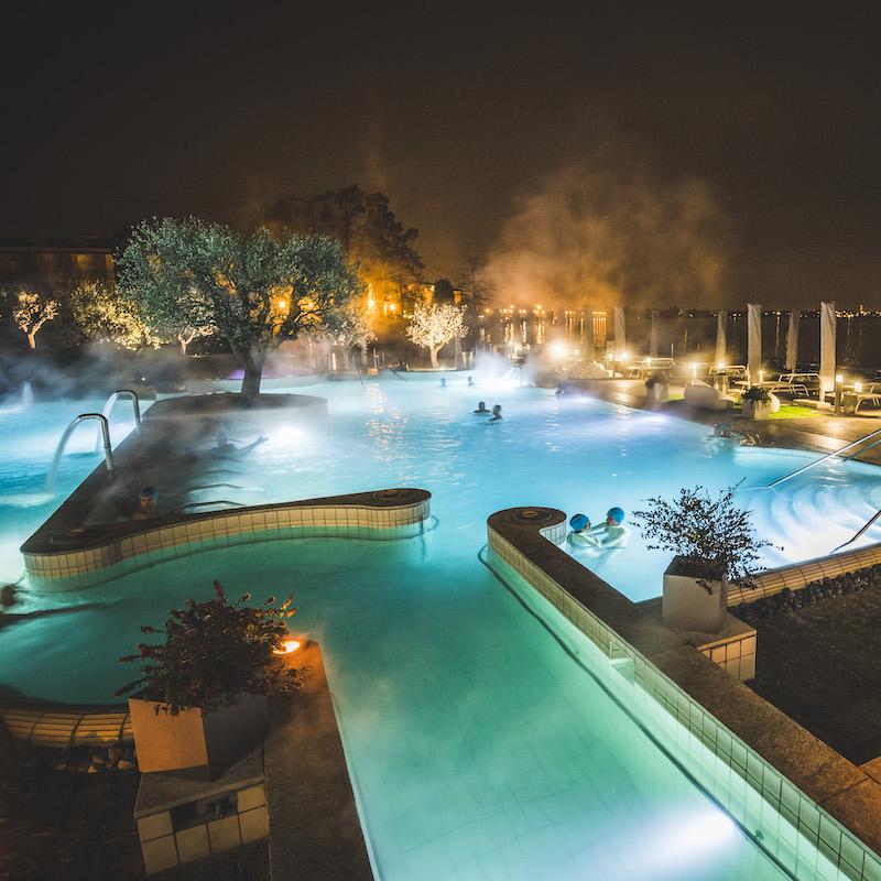 Terme Aquaria Di Sera: Lago Di Garda